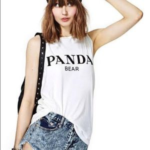 Panda Bear Nasty Gal Top